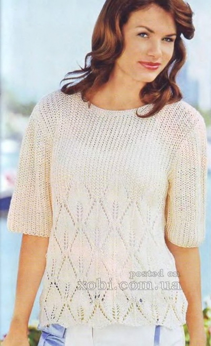 Пуловер Патентной Резинкой С Доставкой