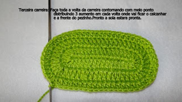 Урок и видео по вязанию сандалий для младенца
