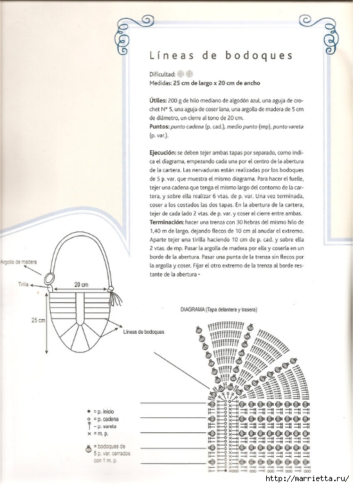 СУМКИ. Вязание крючком со схемами (4) (508x700, 201Kb)
