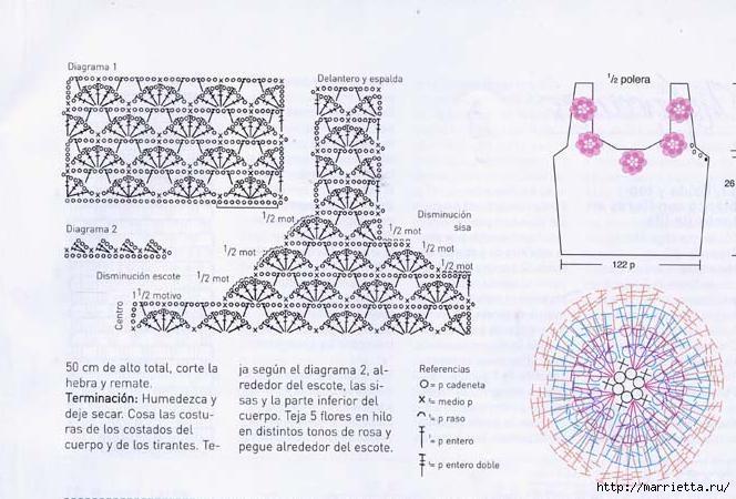 Вязание крючком. Летние модели (40) (664x450, 185Kb)