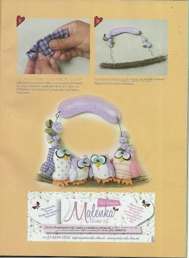 игрушки из ткани с выкройками. совушки (9) (374x512, 123Kb)