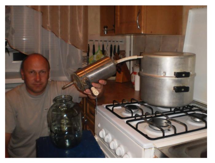 Как делать самогон в домашних условиях в скороварке