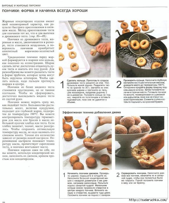 Тесто для пончиков пошаговый рецепт