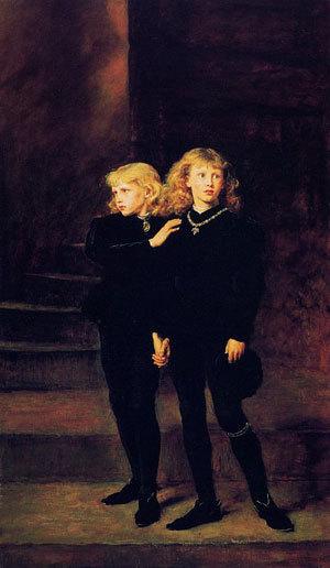 Принцы Эдуард и Ричард. (300x516, 32Kb)