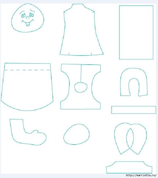 Шьем мягкую куклу в платье и панталонах) Мастер-класс с выкройкой (2) (620x700, 120Kb)