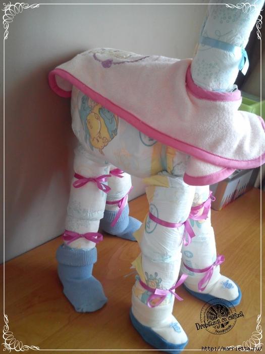 Как сделать куклу из памперсов своими руками