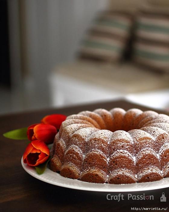 Рецепт макового кекса с яблоками и вишней (12) (560x700, 251Kb)