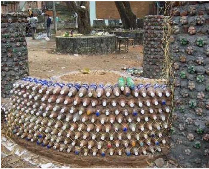 Домик из пластиковых бутылок своими руками фото - Поделки, делаем самостоятельно