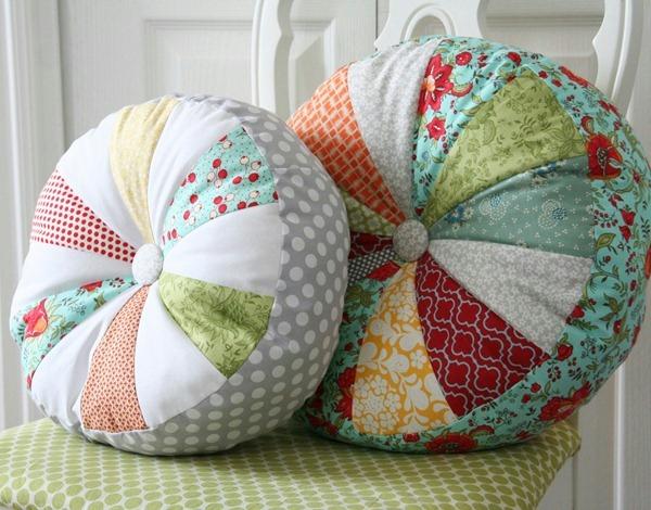 Подушки декоративные с буфами своими руками