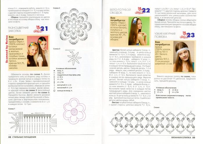 вязаная копилка стильные украшения журнал (27) (700x496, 356Kb)