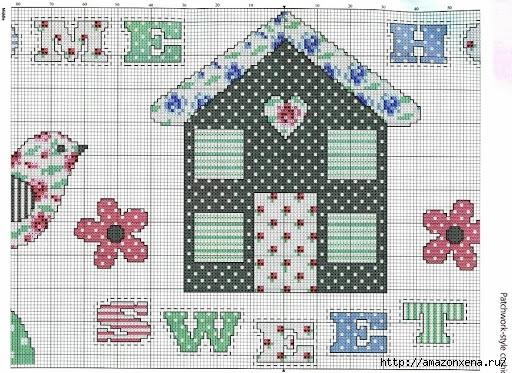 Схемы вышивки крестом для детской подушки (2) (512x373, 198Kb)