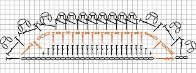 Связать крючком болеро по схемам