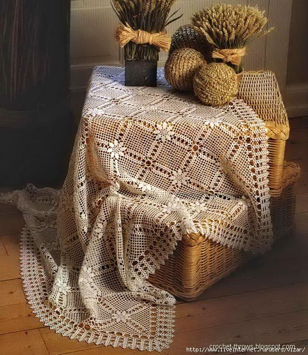 Crochet Tablecloth 12 (607x700, 406Kb)