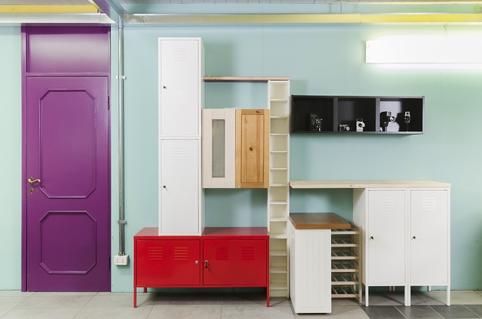 яркий офисный дизайн интерьера 4 (700x463, 160Kb)