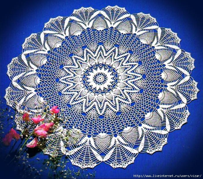 Crochet-Lace-Tablecloth Free-Pattern 9 (700x618, 425Kb)