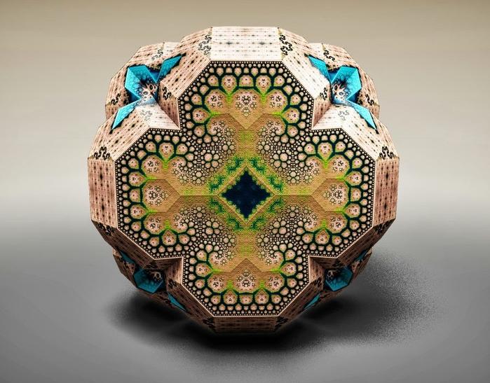 Фракталы фоберже фото Faberge Fractals (700x547, 259Kb)
