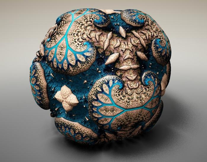 Фракталы фоберже фото Faberge Fractals 8 (700x547, 279Kb)
