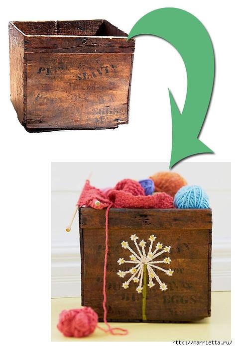 Вышивка на табуретках и на сетке для украшения интерьера (3) (472x700, 188Kb)