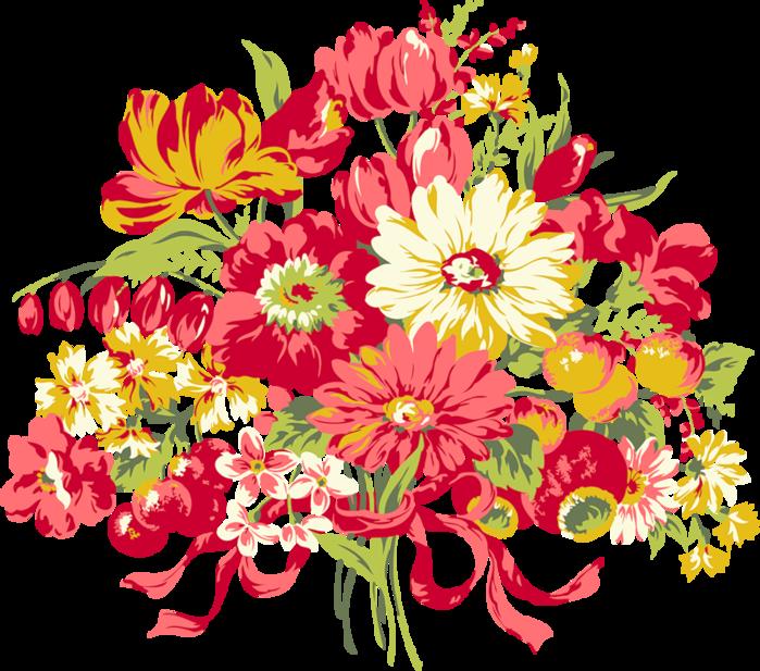Детские цветы картинки нарисованные 4