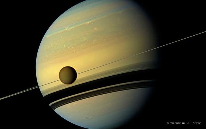 Потрясающие снимки спутником Кассини планеты Сатурн