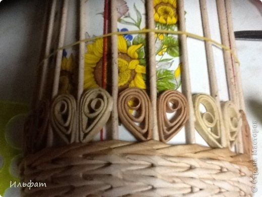 Торсион-папье или папье-вабоско из газет. Самые красивые работы в сети (36) (520x390, 104Kb)