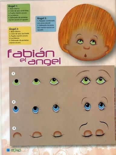 Как нарисовать глазки. Журнал (13) (384x512, 121Kb)