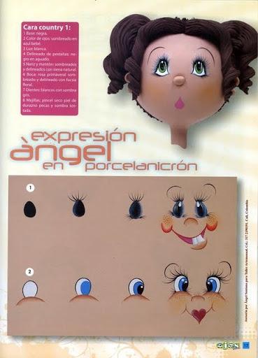 Как нарисовать глазки. Журнал (17) (369x512, 120Kb)