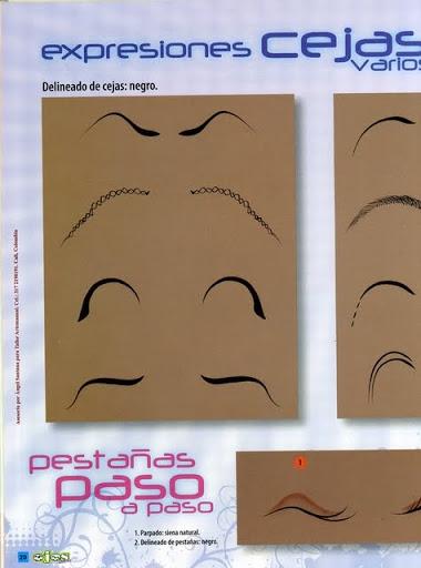Как нарисовать глазки. Журнал (19) (380x512, 106Kb)