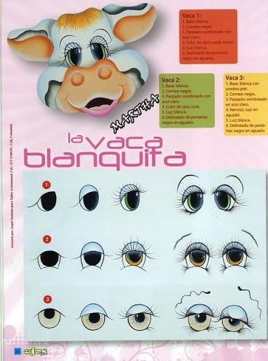 Как нарисовать глазки. Журнал (21) (381x512, 148Kb)