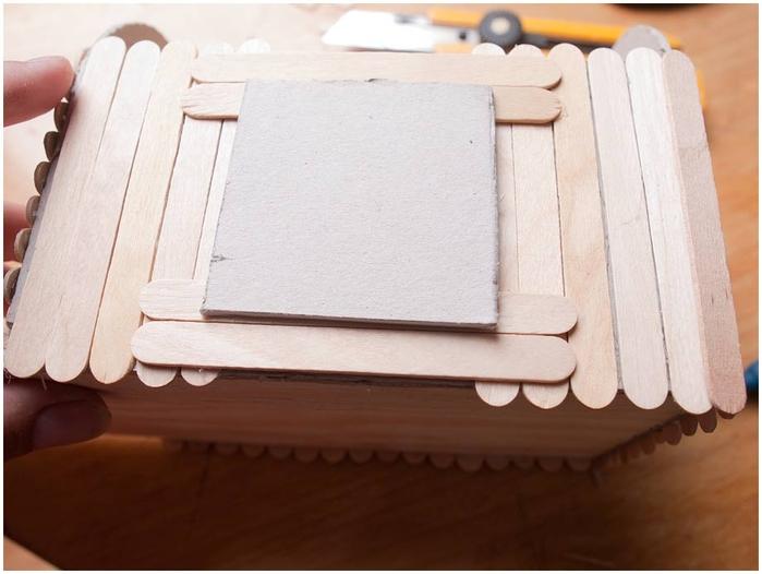 Домик на колесах из картона и палочек от мороженого. МАСТЕР-КЛАСС (31) (700x526, 192Kb)