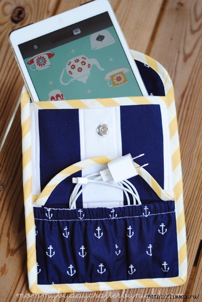 DIY ipad mini case with pouch for storage (402x601, 199Kb)