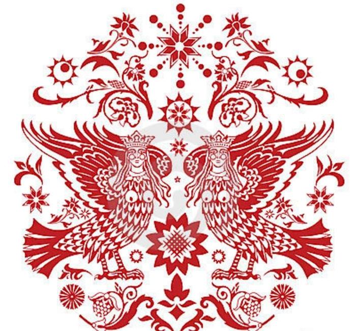 традиционный славянский узор 9