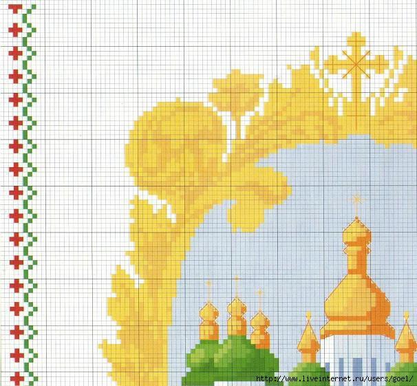 Схемы для вышивки пасхальных рушников в Украине. Сравнить