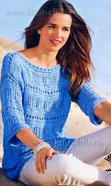 1371798843_vjazhem-spicami-pulover-s-azhurnym-uzorom (360x600, 41Kb)