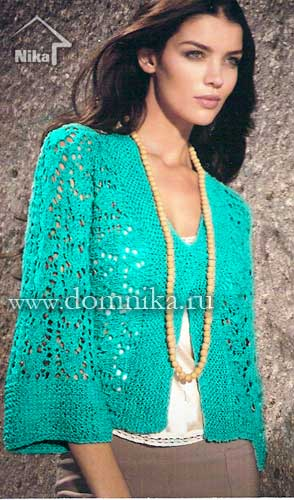 вязание спицами модели - Самое