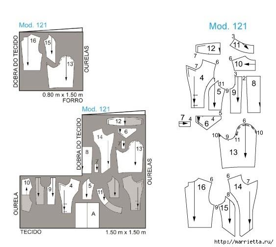 Выкройка коротенького модного блейзера (2) (563x504, 102Kb)