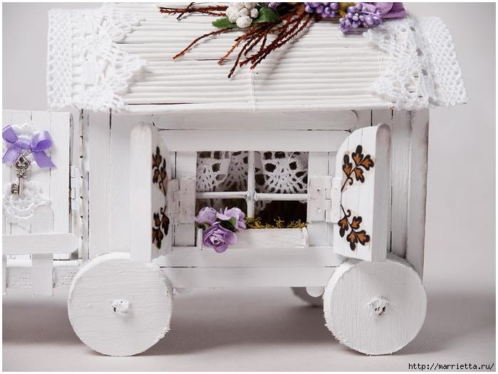 Домик на колесах из картона и палочек от мороженого. МАСТЕР-КЛАСС (69) (700x526, 239Kb)