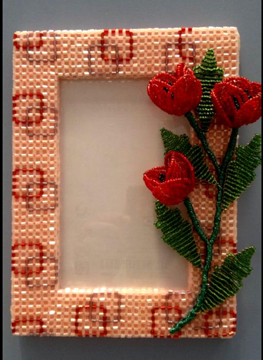 Рамка для вышивки из бисера своими руками мастер класс