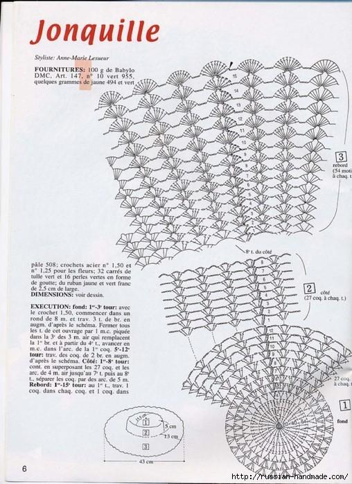 вязание крючком ажурные шляпки (4) (508x699, 284Kb)