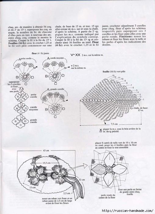 вязание крючком ажурные шляпки (5) (508x699, 223Kb)