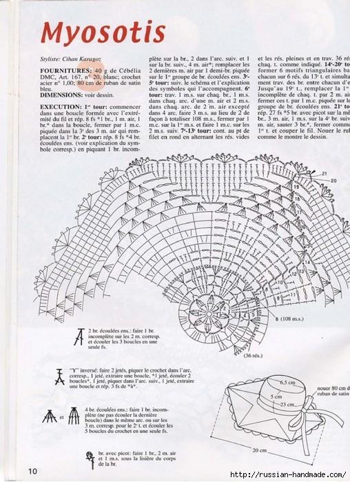вязание крючком ажурные шляпки (9) (508x699, 282Kb)