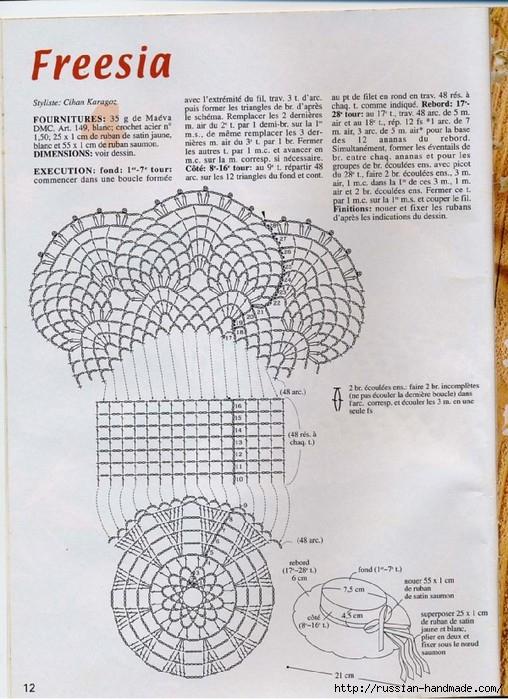 вязание крючком ажурные шляпки (11) (508x699, 270Kb)