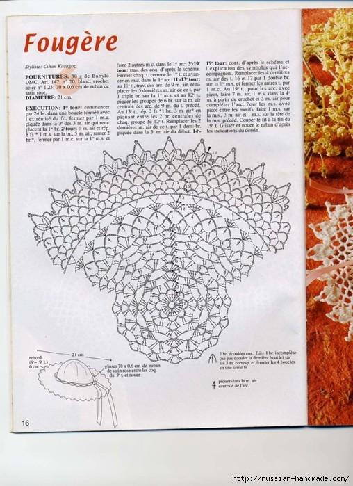 вязание крючком ажурные шляпки (15) (508x699, 263Kb)
