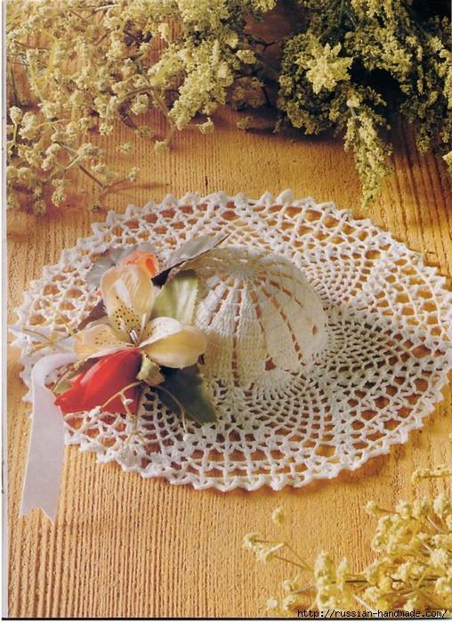 вязание крючком ажурные шляпки (22) (508x699, 336Kb)