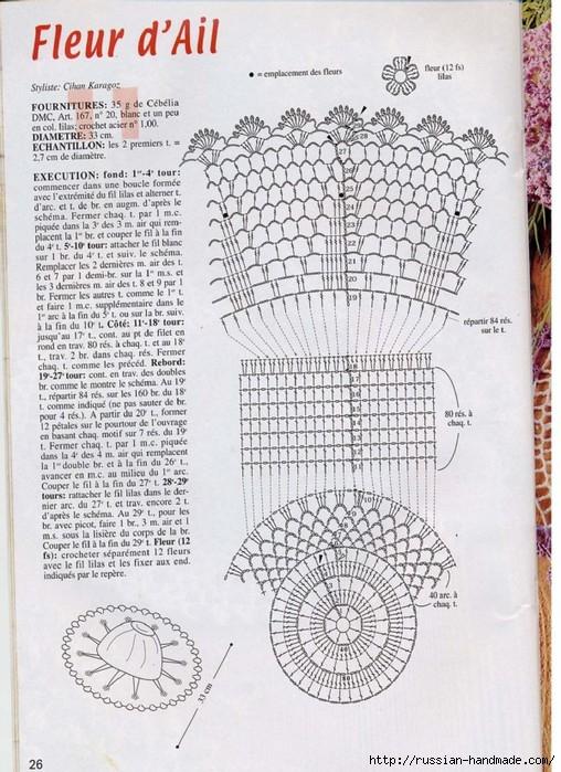 вязание крючком ажурные шляпки (24) (508x699, 288Kb)