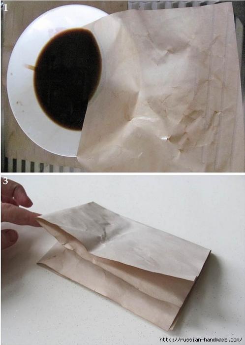 Цветы из бумаги. Как состарить бумагу для винтажных работ (3) (498x700, 191Kb)