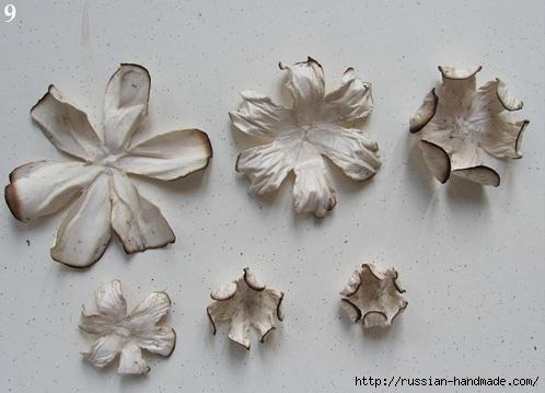 Цветы из бумаги. Как состарить бумагу для винтажных работ (16) (498x359, 107Kb)