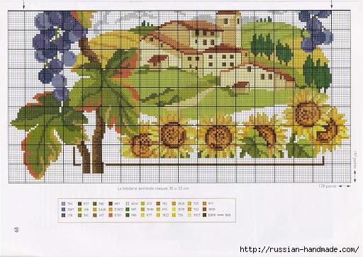 Схемы вышивки для украшения кухонного интерьера (8) (512x363, 192Kb)