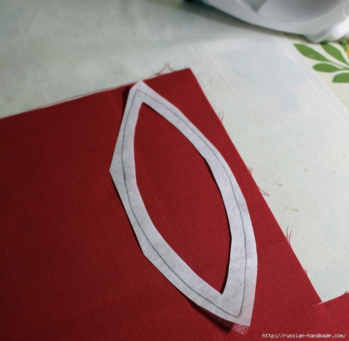 Рождественская салфетка. Лоскутное шитье. Мастер-класс (12) (700x683, 316Kb)