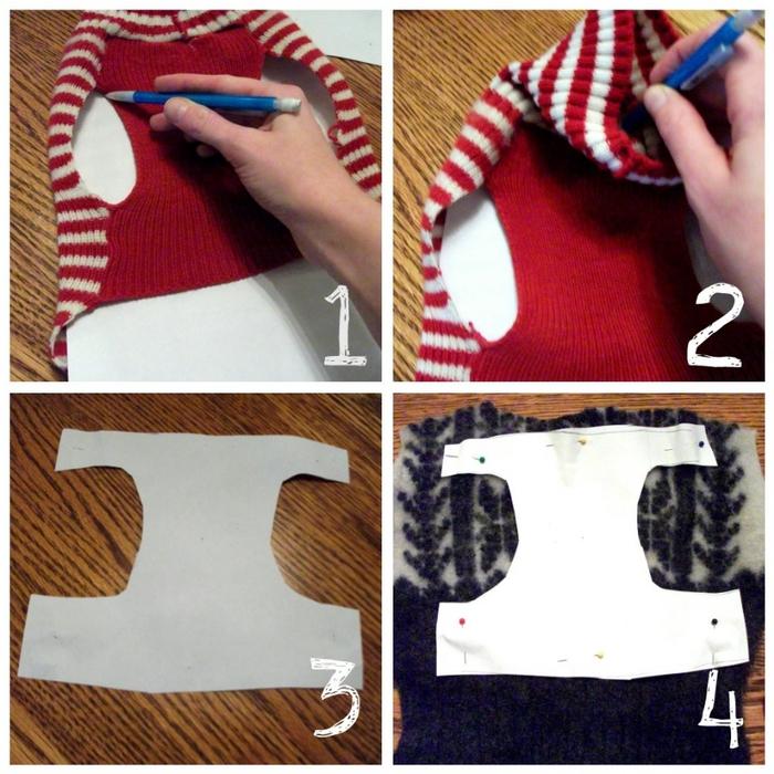 Как пошить свитер